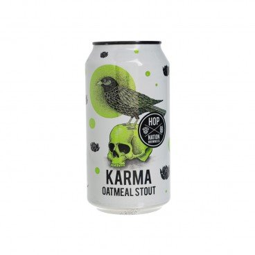 HOP NATION - Craft Beer The Karma Oatmeal Stout - 375ML