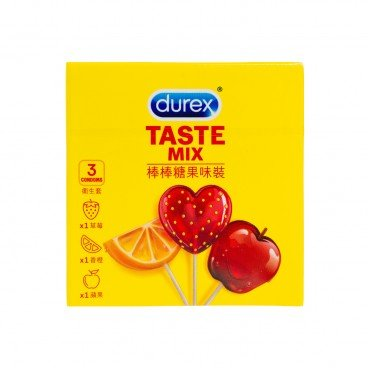 DUREX - Taste Mix - 3'S