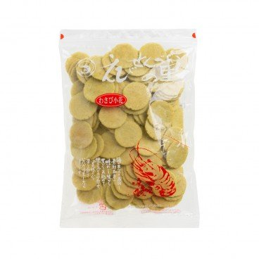 Directly from Japan - Ebi Crackers wasabi - 200G