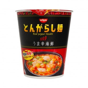 NISSIN - Spicy Seafood Cup Noodles - 64G