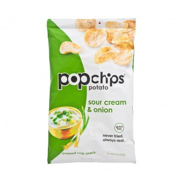 POPCHIPS - Potato Chips sour Cream Onion Potato - 5OZ