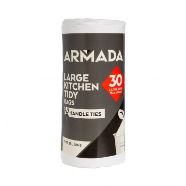 COUNTDOWN - Kitchen Tidy Bags large Roll - 30'S