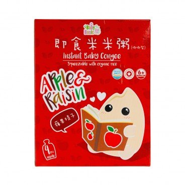 BABY BASIC - Baby Congee squeeze Pouch Apple Raisin Box - 120G*4