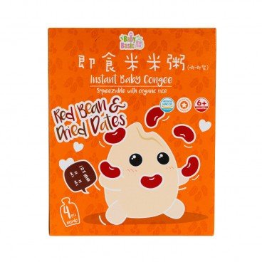 BABY BASIC - Baby Congee squeeze Pouch Red Bean Dried Dates Box - 120G*4