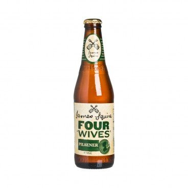 JAMES SQUIRE - Four Wives Pilsner - 345ML