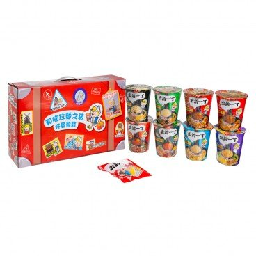 DE-MA-E - Box Set iccho Instant Cup Noodle Ching Chai Figurine Giveaway In Random - 592G