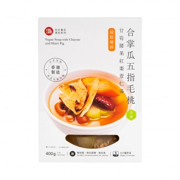 SHEUNG ZENG FOOD - Sheung Zeng Foodvegan Soup With Chayote And Hairy Fig With Ingredients - 400G