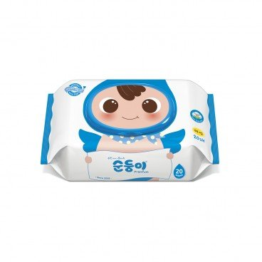 SOONDOONGI - Fragrance Free Premium Baby Wipes - 20'S