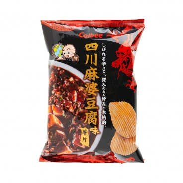 CALBEE - Sichuan Mapo Tofu Flavoured Potato Chips - 70G