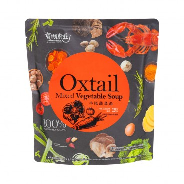 TREASURE LAKE GREENFOOD KITCHEN - Oxtail Mixed Vegetable Soup - 400G