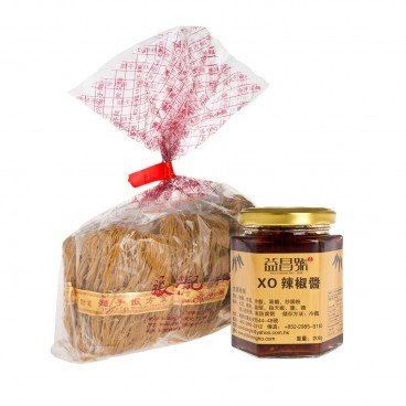 ZTORE SPECIAL Diy Combo shrimp Roe Noodle With Xo Chili Sauce SET