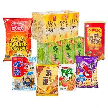 ZTORE SPECIAL All you can eat Snack Combo SET
