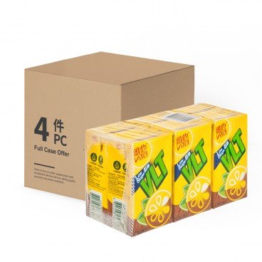 VITA Lemon Tea low Sugar 250MLX6X4
