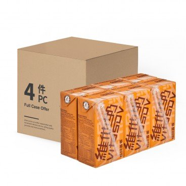 VITASOY 維他奶 麥精豆奶-原箱 250MLX6X4
