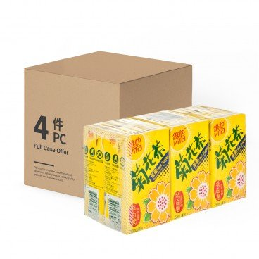 VITA Chrysanthemum Tea low Sugar 250MLX6X4