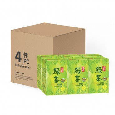 TAO TI - Honey Green Tea - 250MLX6X4
