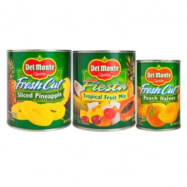 DEL MONTE Syrup Fruit Set SET