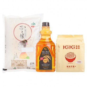 SET-PREMIUM OIL & NOODLES & RICE