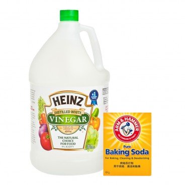 SET-CLEANING WITH WHITE VINEGAR
