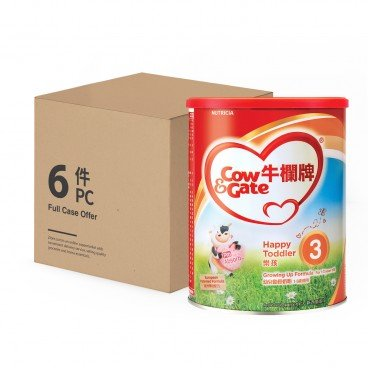 COW & GATE - 3 Growing Up Formula - 900GX6
