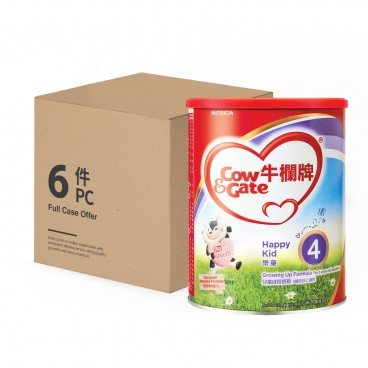 COW & GATE 4 Growing Up Formula 900GX6