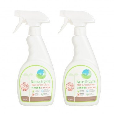 CF LIFE BY CHOI FUNG HONG Natural Enzyme Multi purpose Cleaner Twin Set SET