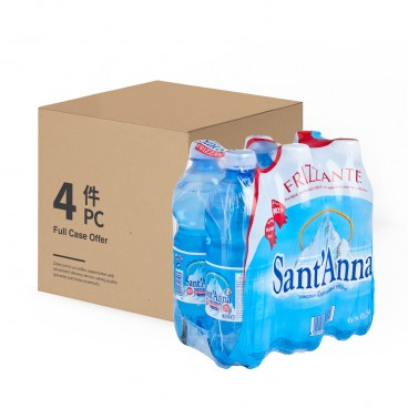 SANT' ANNA Sparkling Mineral Water 500MLX6X4