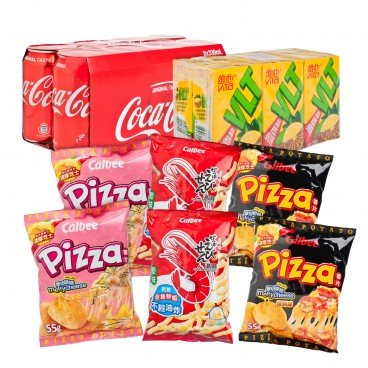 ZTORE SPECIAL Selected Beverage And Snack Combo SET