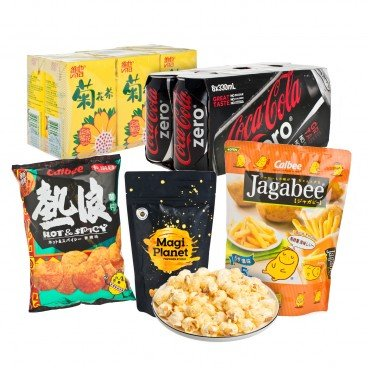 ZTORE SPECIAL Beverage And Snack Combo SET