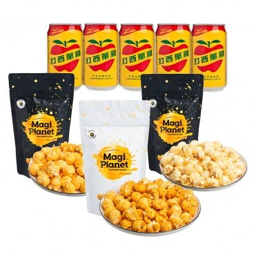 MAGI PLANET POPCORN AND DRINK COMBO