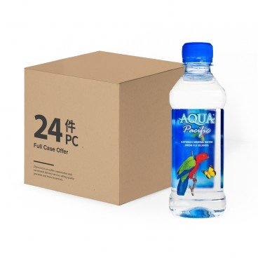 AQUA PACIFIC Natural Mineral Water case Offer 330MLX24