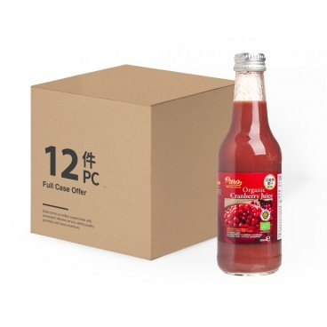 PURO Organic Cranberry Juice case Offer 250MLX12