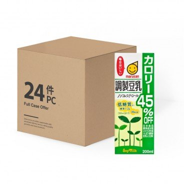 MARUSANA Tonyu Calorie 45 Off case Offer 200MLX24