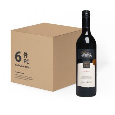 WYNDHAM Bin 555 Shiraz case Offer 750MLX6