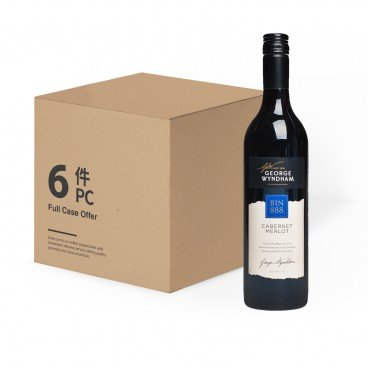 WYNDHAM Bin 888 Cab Merlot case Offer 750MLX6