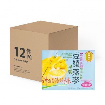 DAI PAI DONG No Sugar Added Instant Soya Cereal case Offer 32GX6X12