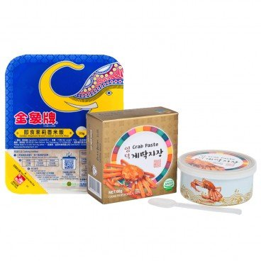 ZTORE SPECIAL Set instant Rice  Crab Paste SET