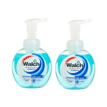 WALCH Foaming Hand Wash refreshing Bundle 300MLX2
