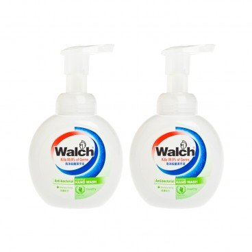 WALCH Foaming Hand wash moisturizing Bundle 300MLX2