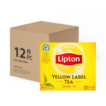LIPTON Yellow Label Teabags 2GX100X12