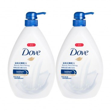 DOVE - Beauty Nourishing Bath Bundle - 1LX2