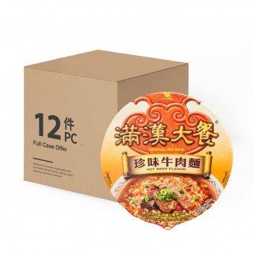 UNI-PRESIDENT - Imperial Big Meal hot Beef case - 192GX12