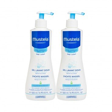 MUSTELA Gentle Cleansing Gel Bundle 500MLX2