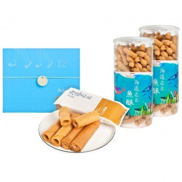 HIWALK - Set egg Rolls With Peanut Filling Fish Sticks - SET