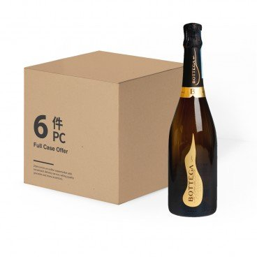 BOTTEGA - Prosecco Nv case Offer - 750MLX6