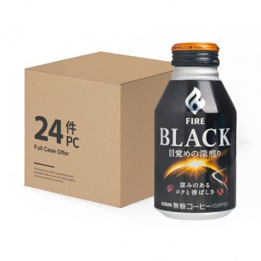 FIRE ROASTED NO SUGAR BLACK COFFEE-CASE OFF