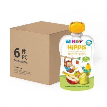 HIPP Organic Apple Pear Banana case Offer 100GX6