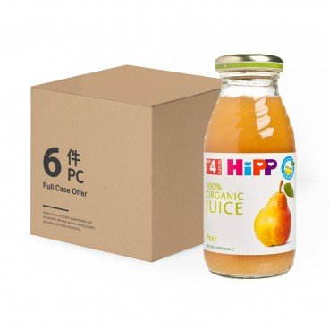 HIPP Organic Pear Juice Bundle 200MLX6