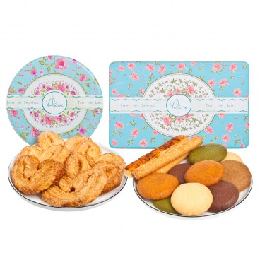 SET-ASSORTED COOKIES & PALMIER