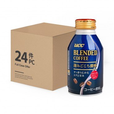 UCC Blended Coffee low Sugar full Case 260MLX24